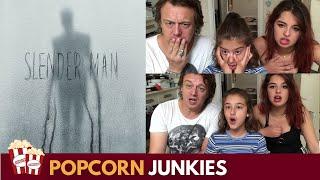 Slender Man (Horror Film)Official Trailer 2 - Nadia Sawalha & Family Reaction & Review