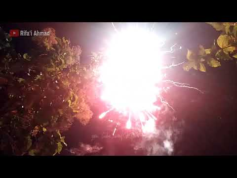 Pesta Kembang Api Menyambut Hari Raya Idul Fitri 1441 H