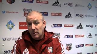 Mark Warburton reacts to being named Sky Bet Manager of the Month for November