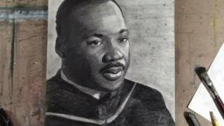 How to Draw Dr. Martin Luther King Jr. Step by Step Portrait