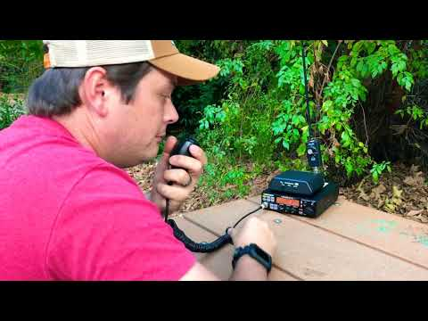 Quick QSO test with President Lincoln II+ 10/12m HF Ham Radio