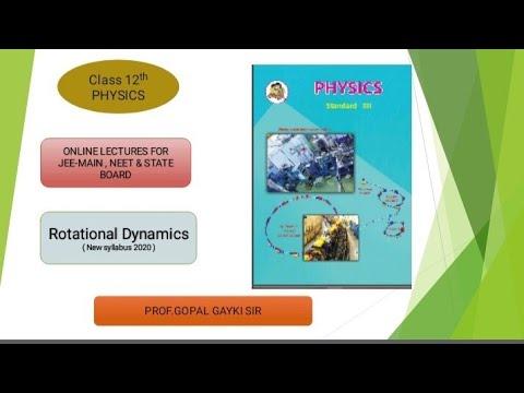 Rotational Dynamics ( Lecture 2) Moment of Inertia, Angular Momentum