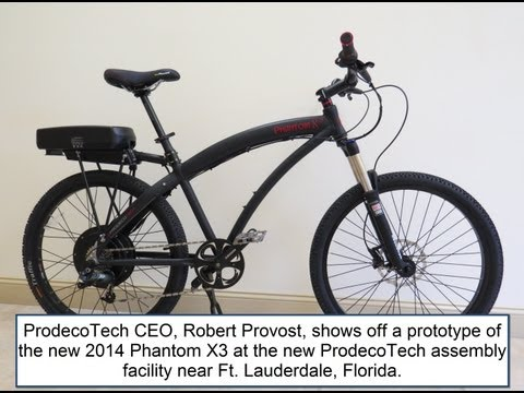 ProdecoTech Phantom X3 Electric Bike Preview | Electric Bike Report