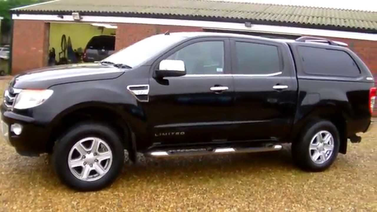 ford ranger limited 4x4 double cab pick up youtube. Black Bedroom Furniture Sets. Home Design Ideas