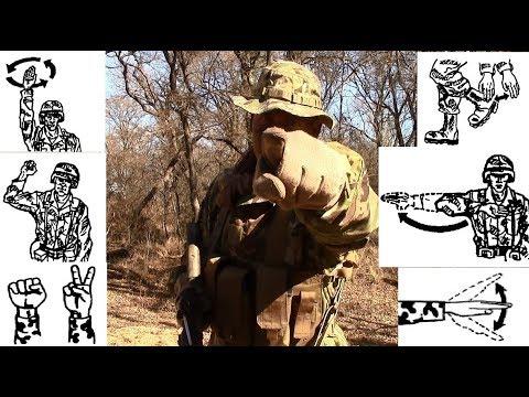 INFANTRYMAN'S GUIDE: Basic Hand & Arm Signals