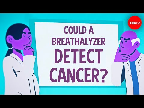 Could a breathalyzer detect cancer? - Julian Burschka