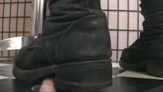 Fingers Crushed Under Heavy Buffalo Boots