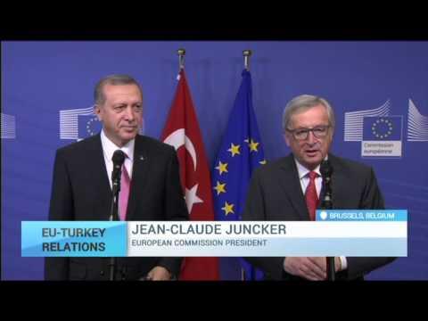 EU-Turkey Relations: Juncker proposes EU-Turkey migration agenda to Erdogan