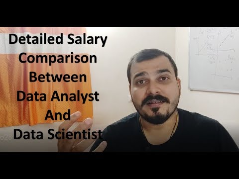 Detailed Salary Comparison Between Data Analyst And Data Scientist