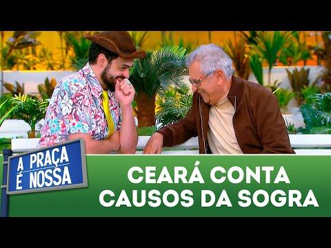 Ceará conta causos da sogra | A Praça é Nossa (26/07/18)