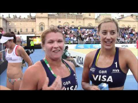 Lucy Boulton and Denise Johns (GBR)