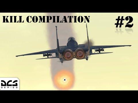 DCS World - Kill Compilation #2 1440p 60 Fps