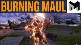 Destiny 2 Forsaken Burning Maul Review: New Sunbreaker Class Guide