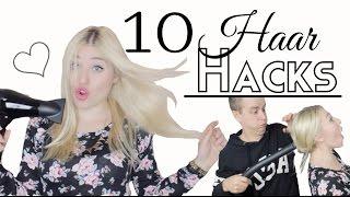 10 easy HAAR HACKS, die euer Leben einfacher machen ♥ BibisBeautyPalace