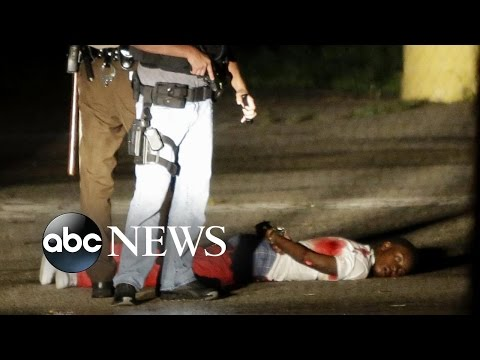 Shots Fired in Ferguson 1 Year After Michael Brown's Death