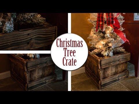 DIY Pallet Tree Crate