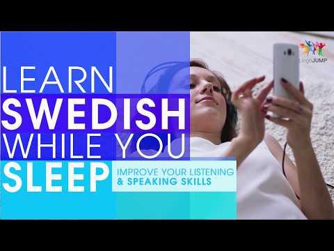 Learn Swedish While You Sleep! Improve Listening & Speaking! Learn Swedish Phrases While Sleeping!
