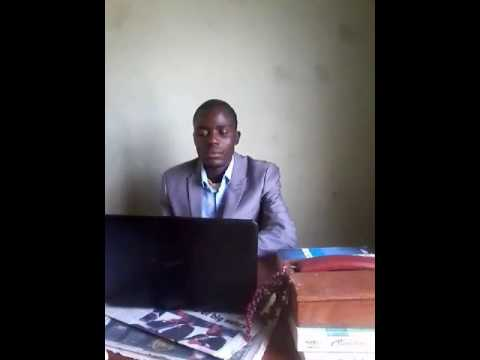 Actual interview with Mr Tinashe Mamboko of Global Environment Organisation (G.E.O)