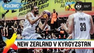 New Zealand v Kyrgyzstan | Full Game | FIBA 3x3 World Cup 2018