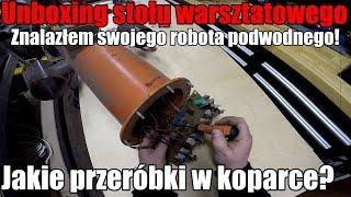 Unboxing stołu warsztatowego. Znalazłem swojego robota podwodnego ROV! #domza150tysiecy.pl