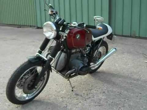 probelauf bmw r 100 cafe racer youtube. Black Bedroom Furniture Sets. Home Design Ideas