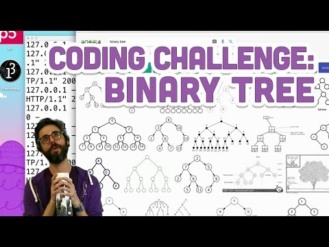 Coding Challenge #65.1: Binary Search Tree