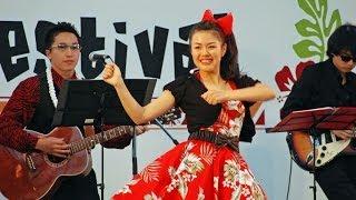 Nagoya Hawaiian Festival2014 にてスタジオアジラ&スペースアジラが出...