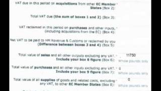 VAT Return for the Flat Rate Scheme