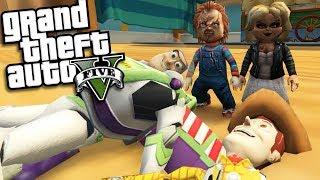 GTA 5 Mods - TOY STORY MOD VS CHILDS PLAY MOD (GTA 5 Mods Gameplay)