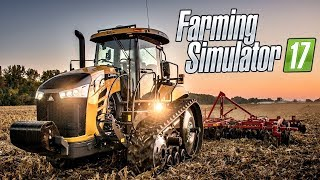 Farming Simulator 17 Обзор И Прохождение карты Mustang valley ranch HD HD