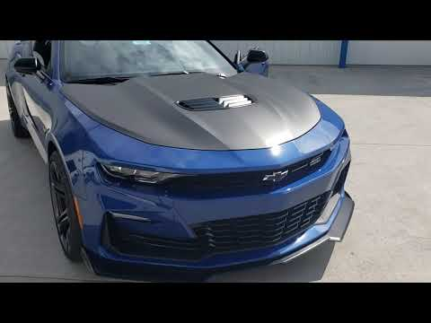 2020 Chevy Camaro 2SS Coup Blue 6 Speed Manual