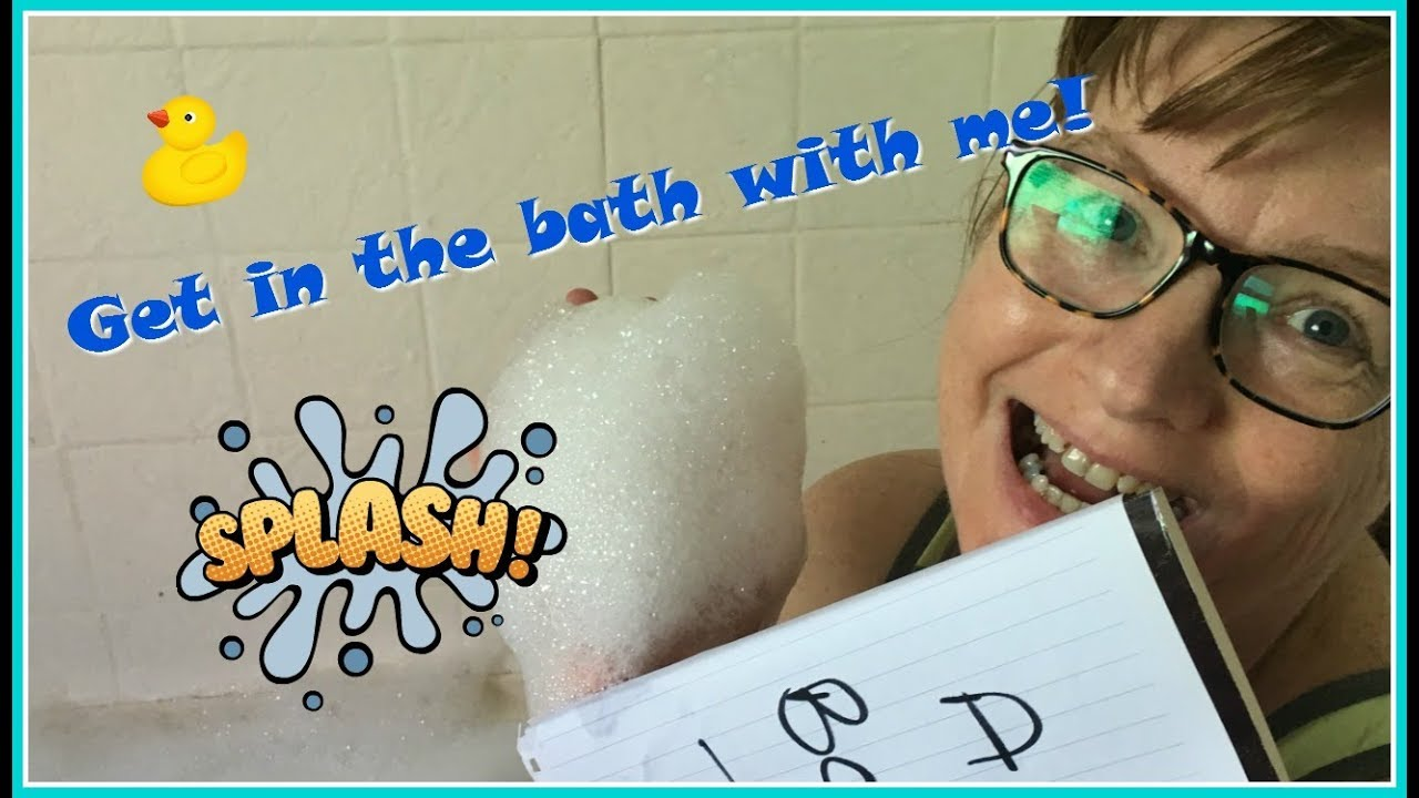 HOW TO READ SERIES | part one | READING IN THE BATH - YouTube
