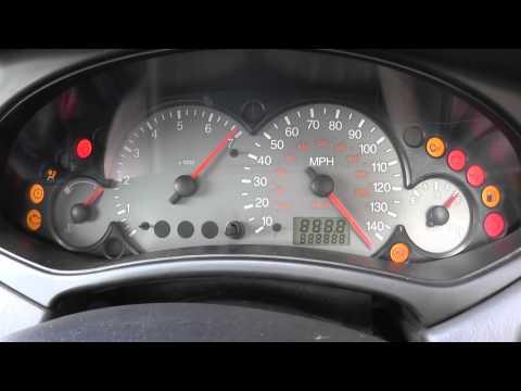 Ford focus 2002 startup dash warning lights