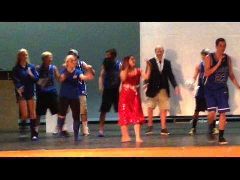 High School Musical skit- Seniors 2015