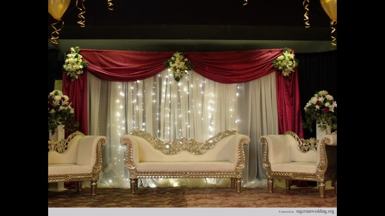 Mehndi Stage Design 2018 : Wedding stage flower decoration ideas youtube