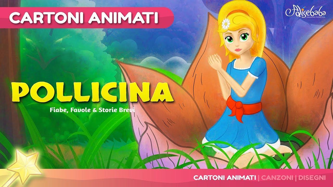 Pollicina storie per bambini cartoni animati fiabe e