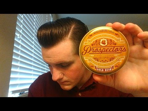Prospector's Gold Rush Hair Pomade Review