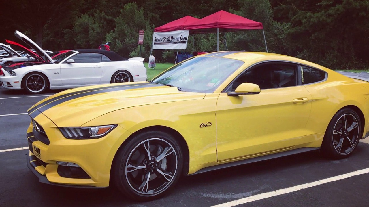 2017 Summit Racing Super Summit Car Show Mustang And Ford Youtube