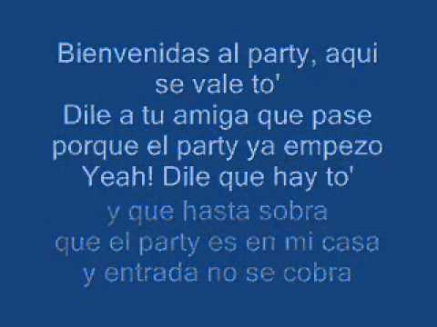 j alvarez - welcome to the party (letra)