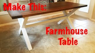 Make This: Farmhouse Table