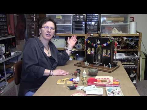 Rosalie Koldan  ~ Creating art with found objects.