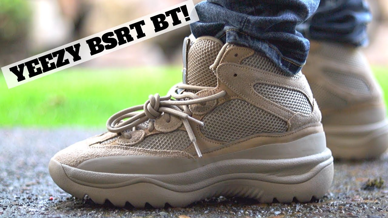WORTH BUYING? Adidas YEEZY DSRT BOOT REVIEW & ON FEET!