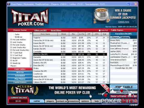 PokerSites.com PokerStars Vs Titan Poker