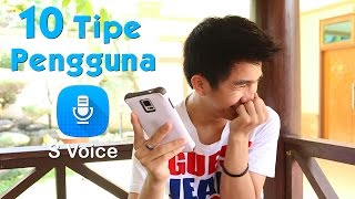 10 TIPE PENGGUNA S Voice