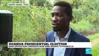 Uganda presidential election: Main opposition candidate Bobi Wine speaks to France 24