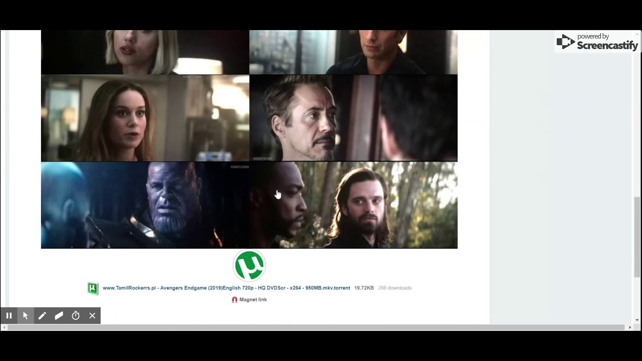 Download HOW TO DOWNLOAD AVENGERS ENDGAME MOVIE | TORRENT |100%Working|