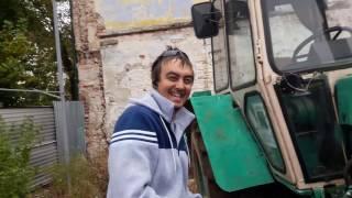 Заводим трактор производства СССР
