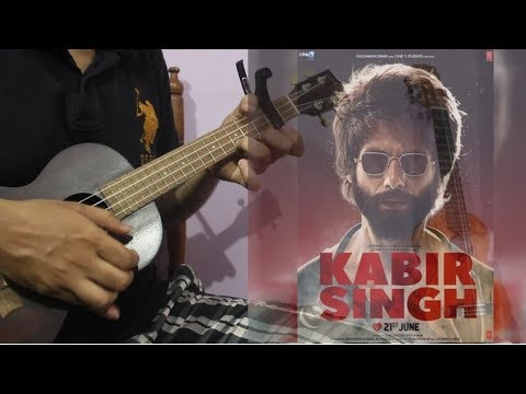 kabir-singh---tujhe-kitna-chahne-lage-ukulele-lesson-for-beginners- -arijit-singh