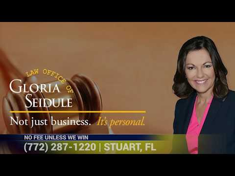 Accidents Happen. Get Compensation. Personal Injury Lawyer Gloria Seidule | Stuart FL 34994