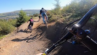 THIS IS WHY YΟU CAN'T BEAT DOWNHILL BIKE PARK RIDING!!